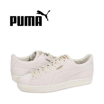 【スニークオンラインショップ】 プーマ PUMA スウェード モノ クラシック スニーカー メンズ スエード SUEDE MONO CLASSIC オフ ホワイト 381921-04 メンズ ブラック 27.5cm SNEAK ONLINE SHOP