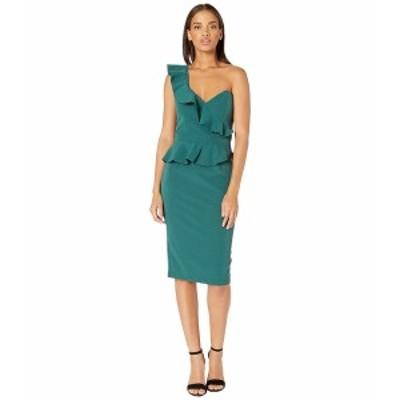 バードット レディース ワンピース トップス Camelia Dress Evergreen