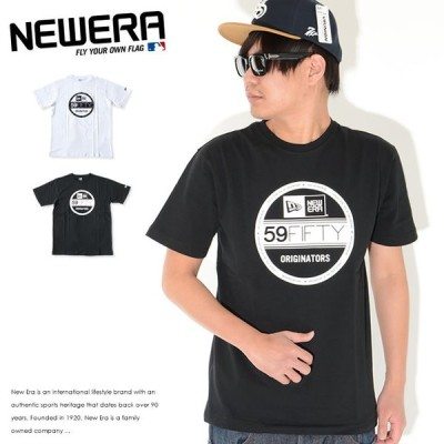 NEWERA ニューエラ Tシャツ 半袖 ステッカーロゴ プリント (11782974 11782976)