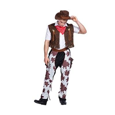 本格的 monoii カウボーイ コスプレ ハロウィン ウェスタン コスチューム 西部劇 衣装 カーボーイ 仮装 d090