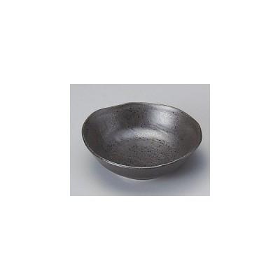 黒14cm変形鉢/大きさ・14×13.5×4.5cm