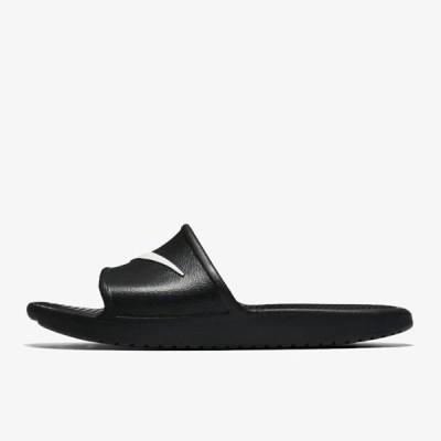 ナイキ レディース スポーツ用品 KAWA SHOWER - Pool slides - black/white