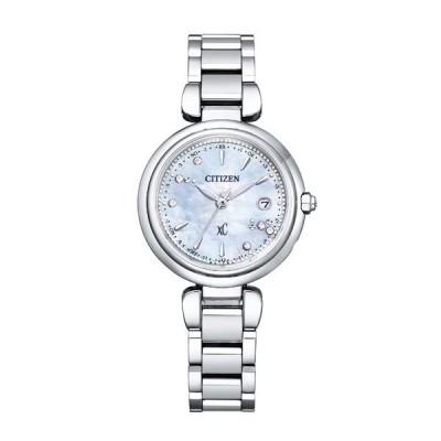 名入れ刻印付き CITIZEN XC シチズン ソーラー電波 腕時計 mizu collection レディース クロスシー 2020年11月発売 ES9461-51W 120,0