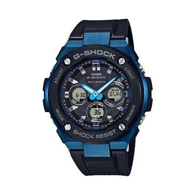 [カシオ] 腕時計 ジーショック G-STEEL 電波ソーラー GST-W300G-1A2JF メンズ ブラック