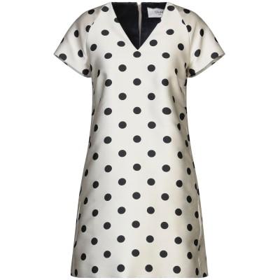 セリーヌ CELINE ミニワンピース&ドレス ライトグレー 42 ポリエステル 100% ミニワンピース&ドレス