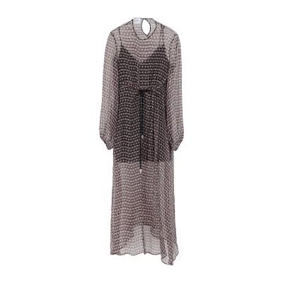 ドンダップ DONDUP ロングワンピース&ドレス ピンク 38 シルク 100% ロングワンピース&ドレス
