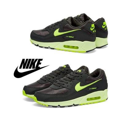 Nike ナイキ Air Max 90 W / Dark Grey & Volt / 取寄品