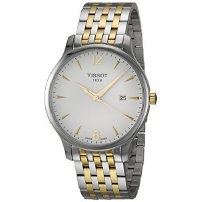 腕時計 ティソ メンズ Tissot Mens Tradition Swiss Quartz Stainless Steel Dress Watch (Model: T06361022
