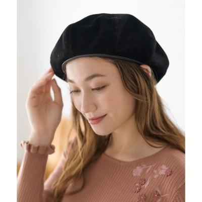 帽子 テキスタイルベレー(0R18-HT006)