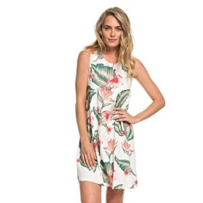ロキシー レディース ワンピース トップス Roxy Women's Harlem Vibes Dress Marshmallow Tropical Love