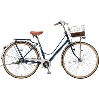 送料無料 ブリヂストン シティサイクル自転車 カジュナ DX ベルト CB63B1 E.Xアメリカンブルー