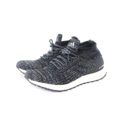 【中古】アディダス adidas スニーカー ウルトラブースト Ultra Boost Atr S82036 黒 ブラック グレー 27 シューズ 靴 ■SM メンズ 【ベクトル 古着】
