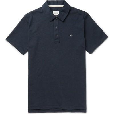 ラグ&ボーン RAG & BONE メンズ ポロシャツ トップス polo shirt Dark blue