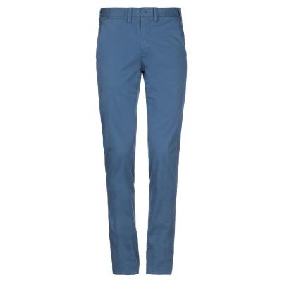 ERIC HATTON パンツ ブルーグレー 46 コットン 98% / ポリウレタン 2% パンツ