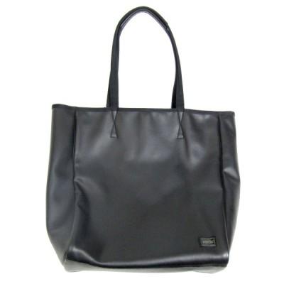 PORTER ミニポーチ付きトートバッグ ブラック (三宮店) 200924