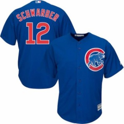 Majestic マジェスティック スポーツ用品  Mens Chicago Cubs Kyle Schwarber Majestic Royal Official Cool Base Player Jersey