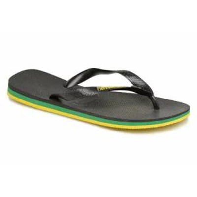 Havaianas メンズサンダル Havaianas Flip flops Brasil Layers Black Black