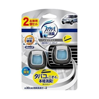 ファブリーズ 芳香剤 車用 イージークリップ タバコ用 2mLx2
