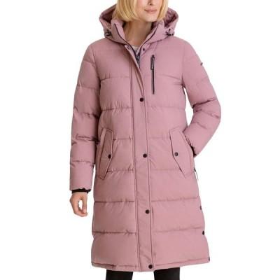 BCBジェネレーション コート アウター レディース Hooded Puffer Coat Dusty Pink