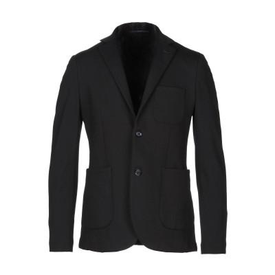 アティピコ AT.P.CO テーラードジャケット ブラック 48 ポリエステル 68% / ナイロン 27% / ポリウレタン 5% テーラードジャ