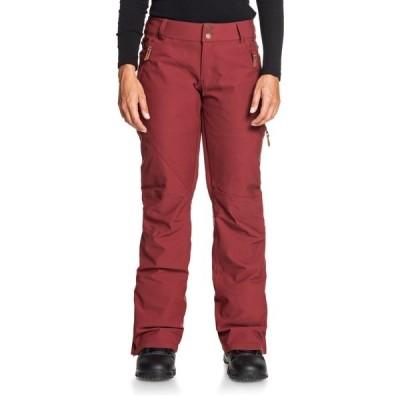 ロキシー レディース カジュアルパンツ ボトムス Roxy Cabin Pants - Women's Oxblood Red