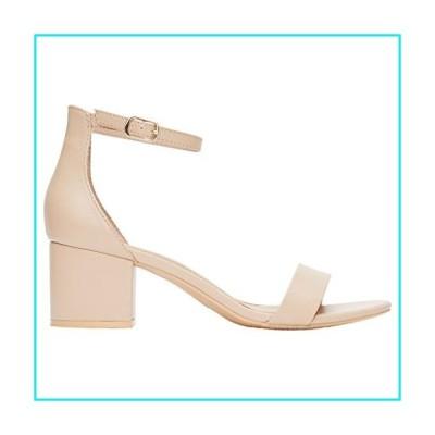 Rohb by Joyce Azria Calypso Mid Heel Ankle Strap Sandal (Nude Pu) Size 8【並行輸入品】