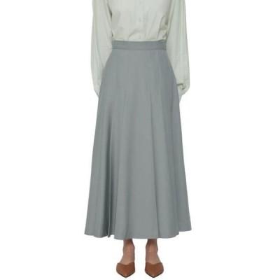 somedayif レディース スカート Bake pleated long skirt