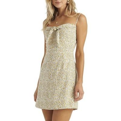 ビラボン レディース ワンピース トップス Endless Summer Floral Knot Front Dress