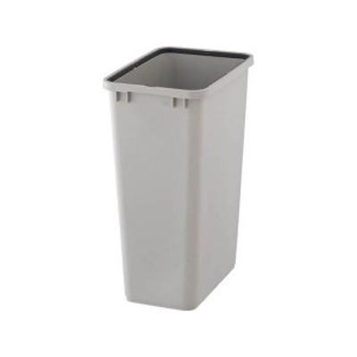 まとめ売りTRUSCO PPペール角型 本体48L グレー TPPK-45-GY 1個(フタ別売) ×2セット 生活用品 インテリア 雑貨 日用雑貨 ゴミ箱[▲][T