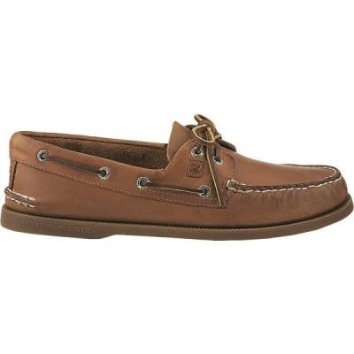 スペリー スニーカー シューズ メンズ Sperry Men's Authentic Original Boat Shoes Brown