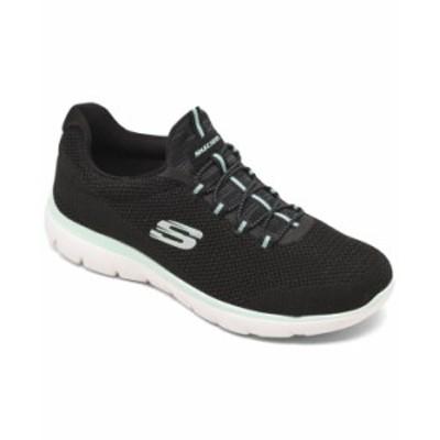 スケッチャーズ レディース スニーカー シューズ Women's Summits - Cool Classic Wide Width Athletic Walking Sneakers from Finish Li