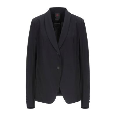 PENN & INK テーラードジャケット ブラック 44 ナイロン 72% / ポリウレタン 28% テーラードジャケット