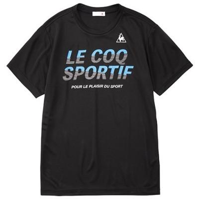 ルコックスポルティフ le coq sportif 半袖シャツ メンズウェア QMMPJA04-BLK