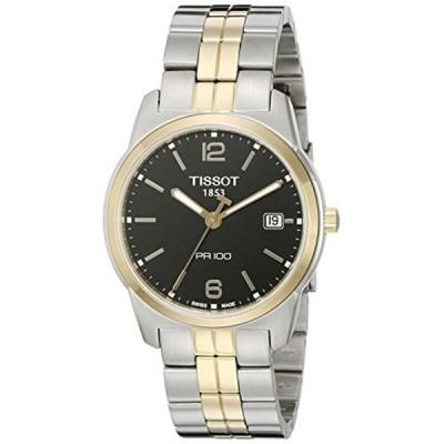 ティソ Tissot 腕時計 メンズ 時計 Tissot Men's T049.410.22.057.01 Black Dial Watch