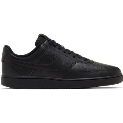 ナイキ スニーカー シューズ メンズ Nike Men's Court Vision Low Shoe Black