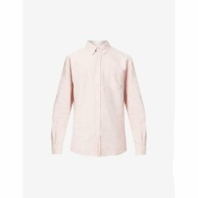カラフルスタンダード COLORFUL STANDARD メンズ シャツ Relaxed-Fit Patch-Pocket Organic-Cotton Oxford Shirt