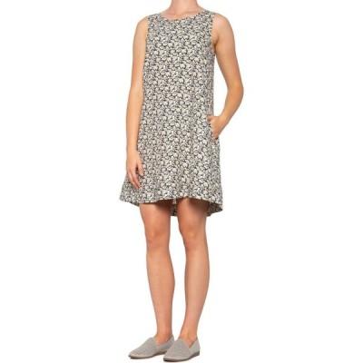 シンシア ローリー Cynthia Rowley レディース ワンピース ノースリーブ ワンピース・ドレス Printed Trapeze Dress - Linen, Sleeveless Daisy Chain