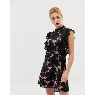 テルーラ レディース ワンピース トップス Talulah Eguro Floral Print Mini Dress