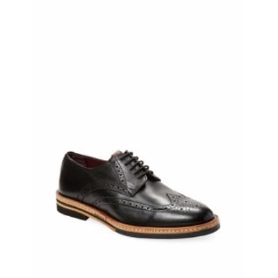 ベンシャーマン メンズ シューズ オックスフォード 革靴 Julius Wingtip Leather Derby Shoe