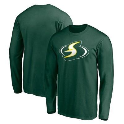 ファナティクス ブランデッド メンズ Tシャツ トップス Seattle Storm Fanatics Branded Alternate Logo Long Sleeve T-Shirt