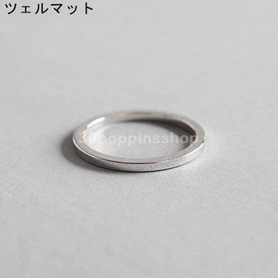 SILVER925製指輪 ファッション リング レディース シルバー925 シンプル