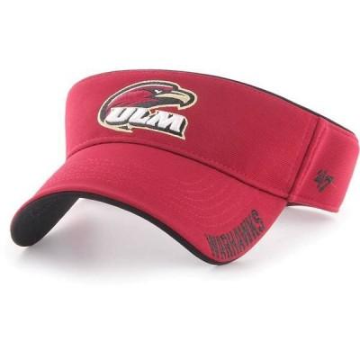 フォーティーセブン メンズ 帽子 アクセサリー '47 Men's Louisiana-Monroe Warhawks Maroon Top Rope Adjustable Visor