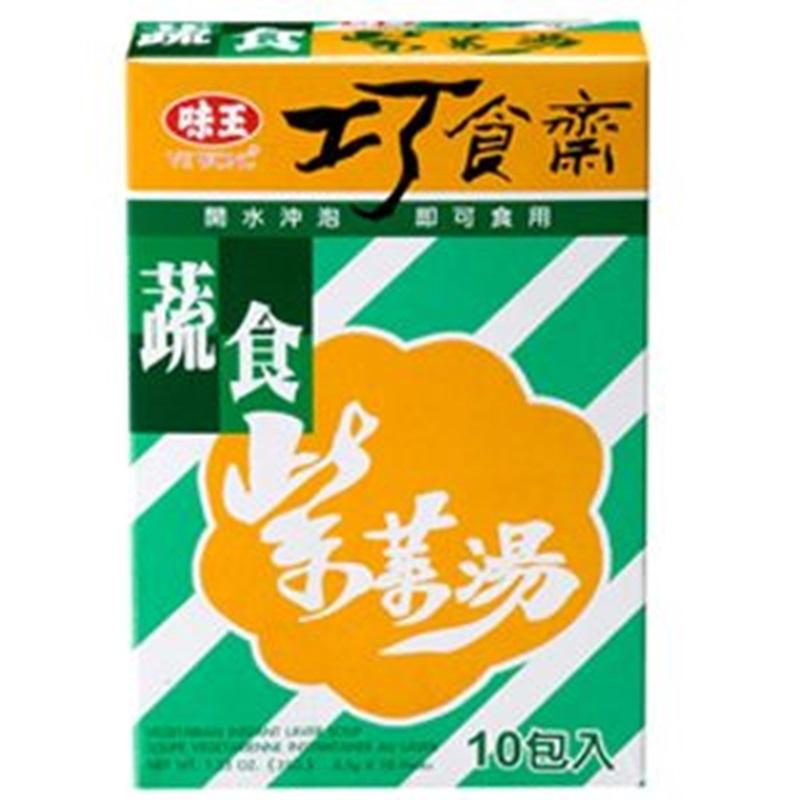 味王蔬食紫菜湯 35g