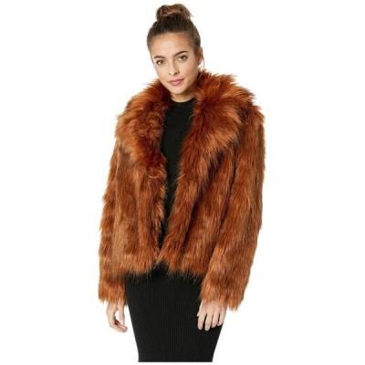 ビービーダコタ レディース コート アウター Penny Lane Lux Faux Fur Jacket