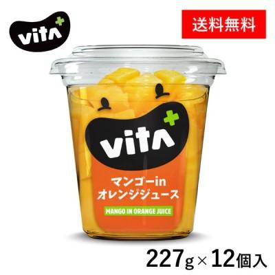 【公式】 ビタプラス VITA+ マンゴーインオレンジジュース 227g 12個入 フルーツ スイーツ まとめ買い ビタミンC