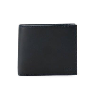 タケオ キクチ TAKEO KIKUCHI Tアンティーク 2つ折り 財布 (ネイビー)