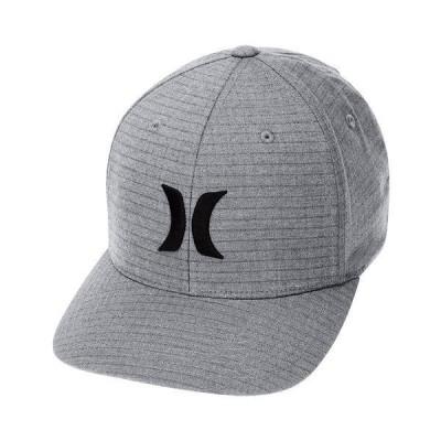 ハーレー 帽子 アクセサリー メンズ Men's Black Plaid Embroidered-Logo FlexFit Hat Grey Plaid