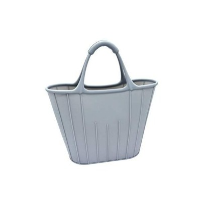 Acdyion シリコン エコバッグ 買い物袋 環境にやさしい 丈夫 ファッション手提げ袋 ハンドバッグ トートバッグ お弁当カバン 通園