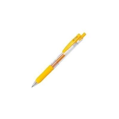 ゼブラ ゲルインクボールペン サラサクリップ 0.7mm 黄 JJB15-Y 【× 30 本 】
