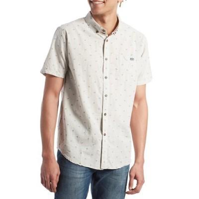 ビラボン メンズ シャツ トップス Billabong All Day Jacquard Short-Sleeve Shirt Chino